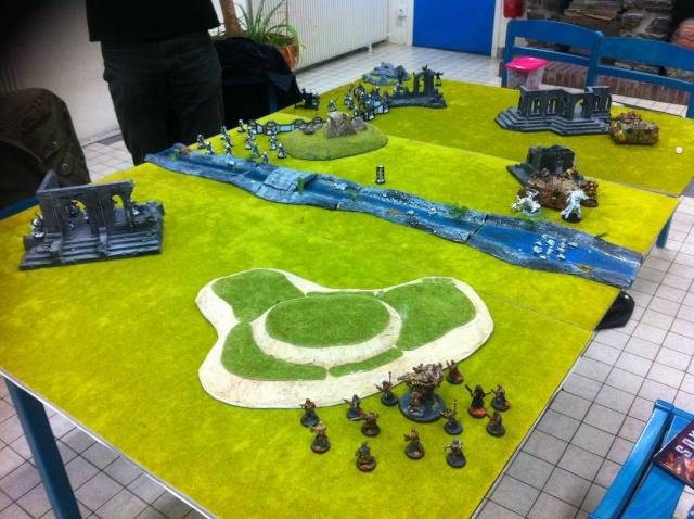 """Rapport de bataille :""""sauvez le saint suaire!"""" SdB vs Chaos nurgle 1500point Image33"""