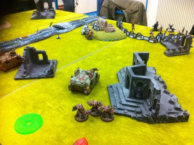 """Rapport de bataille :""""sauvez le saint suaire!"""" SdB vs Chaos nurgle 1500point Image38"""