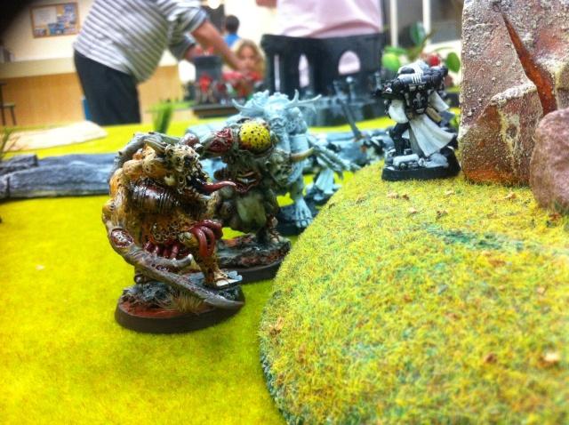 """Rapport de bataille :""""sauvez le saint suaire!"""" SdB vs Chaos nurgle 1500point Image39"""