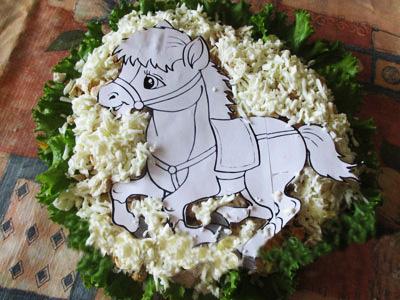 """""""Салат маленький пони"""" Salad-12"""