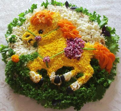 """""""Салат маленький пони"""" Salad-13"""