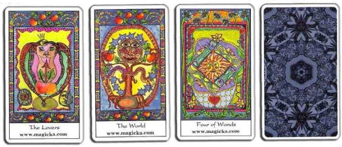 Tarot of the Trance Tarot-14