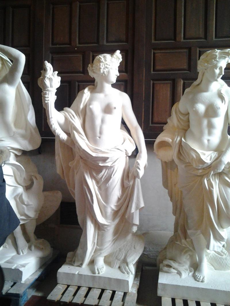 Visite à l'atelier de restauration des sculptures du C2RMF 102110