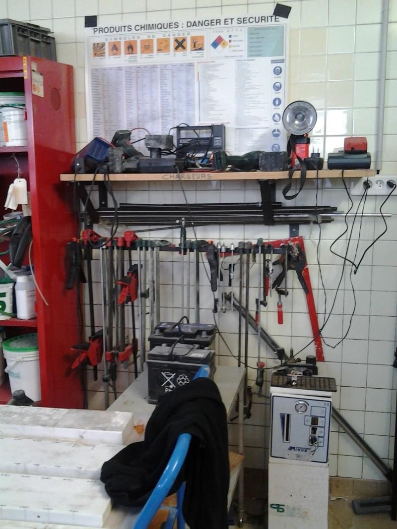 Visite à l'atelier de restauration des sculptures du C2RMF 103211