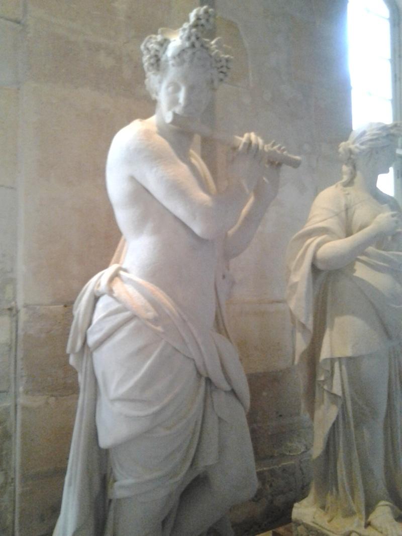 Visite à l'atelier de restauration des sculptures du C2RMF 93310