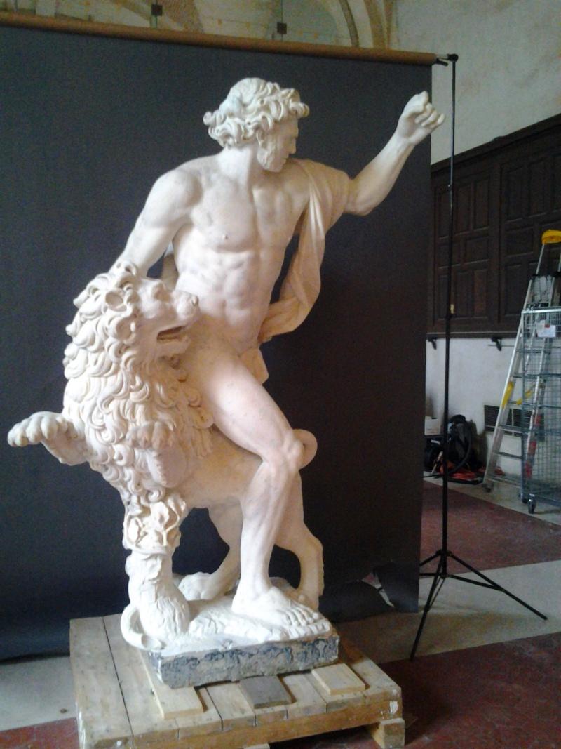 Visite à l'atelier de restauration des sculptures du C2RMF 93410