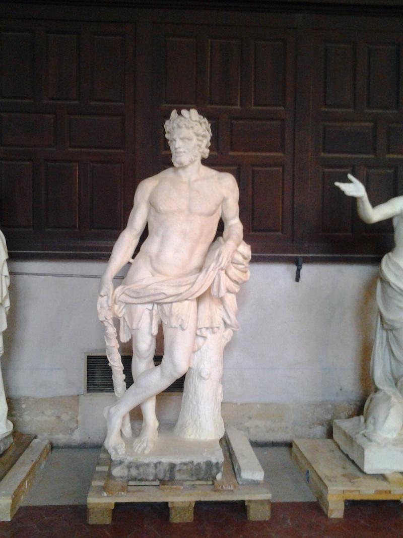 Visite à l'atelier de restauration des sculptures du C2RMF 93511