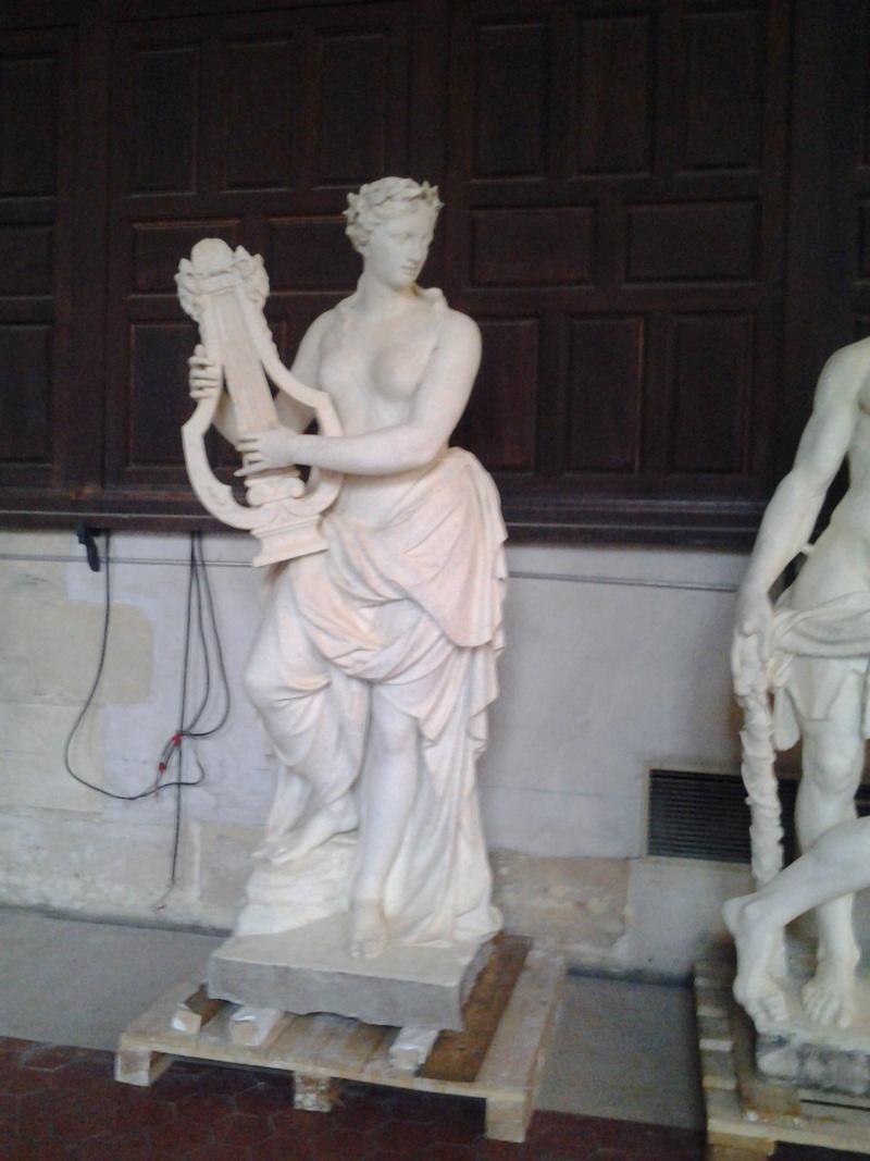 Visite à l'atelier de restauration des sculptures du C2RMF 93610