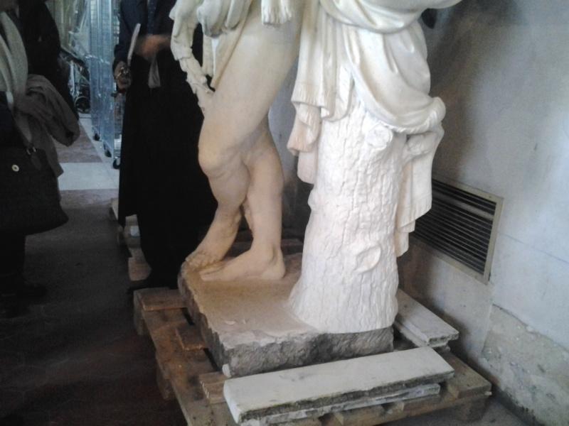 Visite à l'atelier de restauration des sculptures du C2RMF 94411