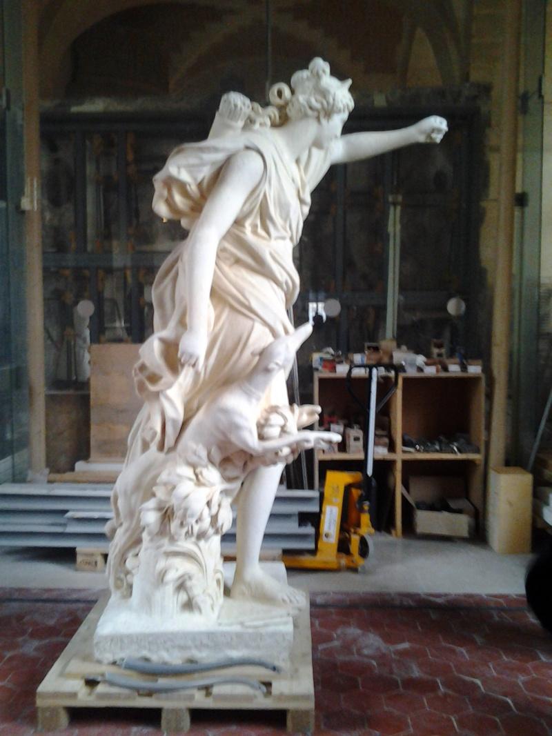 Visite à l'atelier de restauration des sculptures du C2RMF 94710