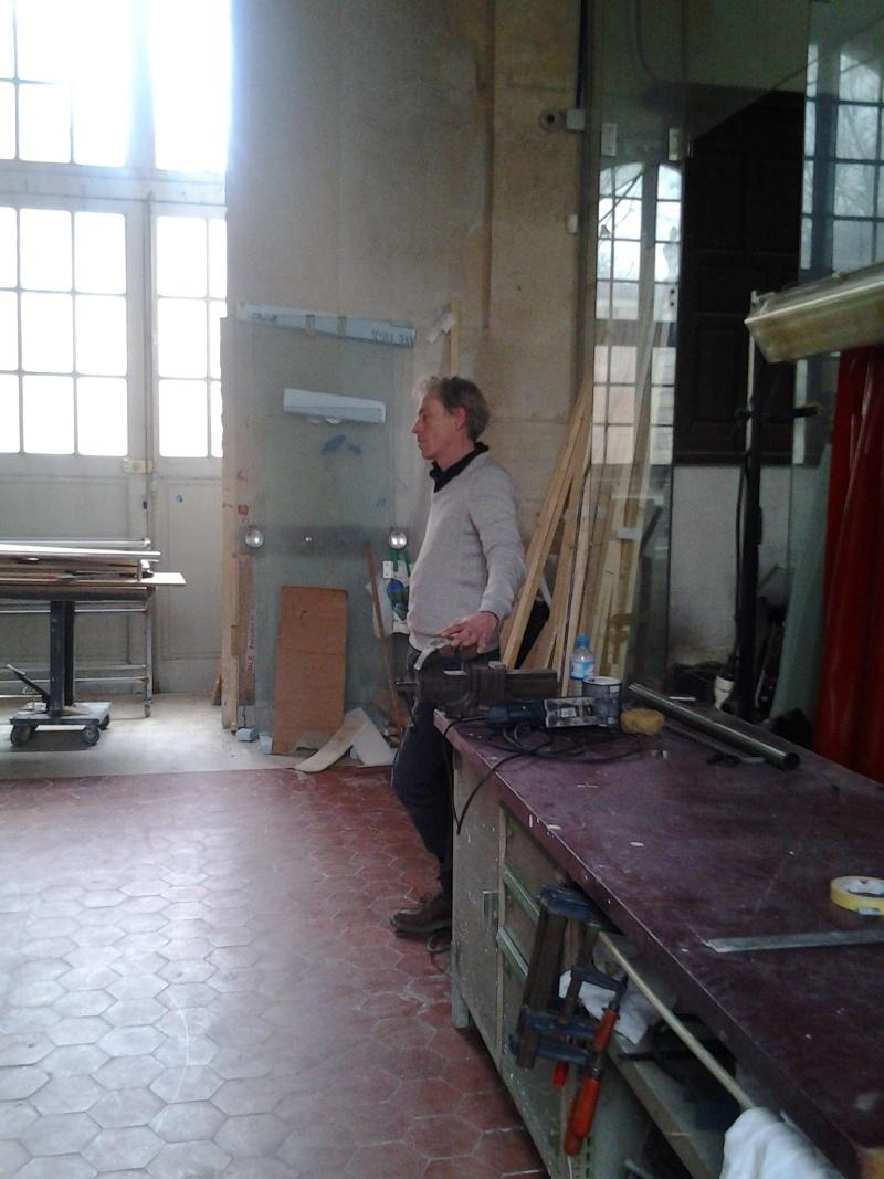 Visite à l'atelier de restauration des sculptures du C2RMF 94810