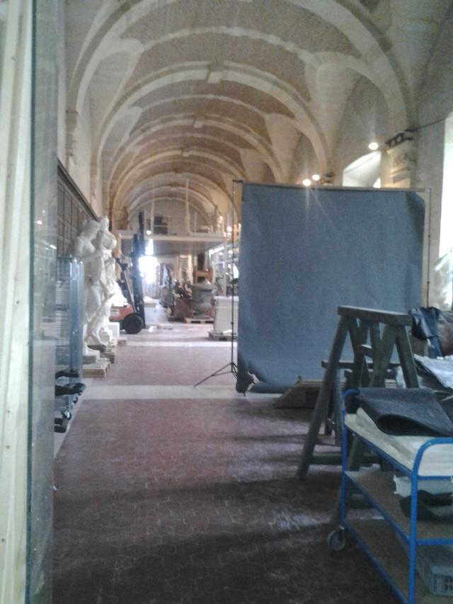 Visite à l'atelier de restauration des sculptures du C2RMF 94911