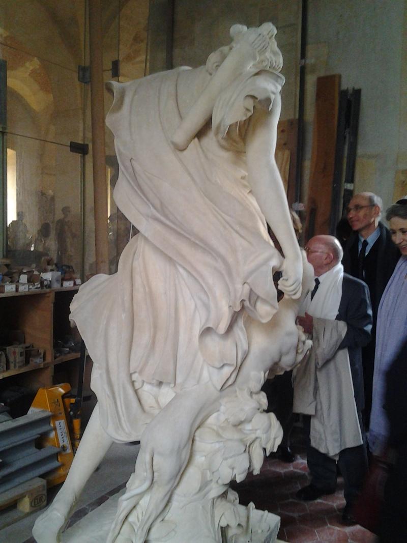 Visite à l'atelier de restauration des sculptures du C2RMF 95010