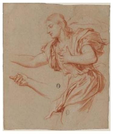 Exposition Dessins français du XVIIe siècle               Bnf310