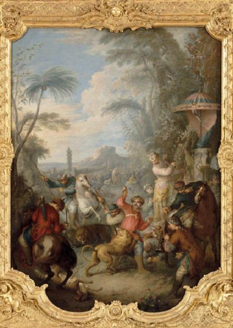 La Chine à Versailles, art & diplomatie au XVIIIe siècle Chasse10