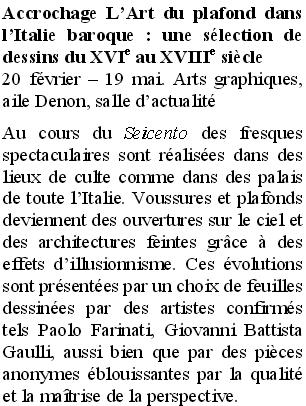 Les expositions du département des Arts graphiques du Louvre Compre10