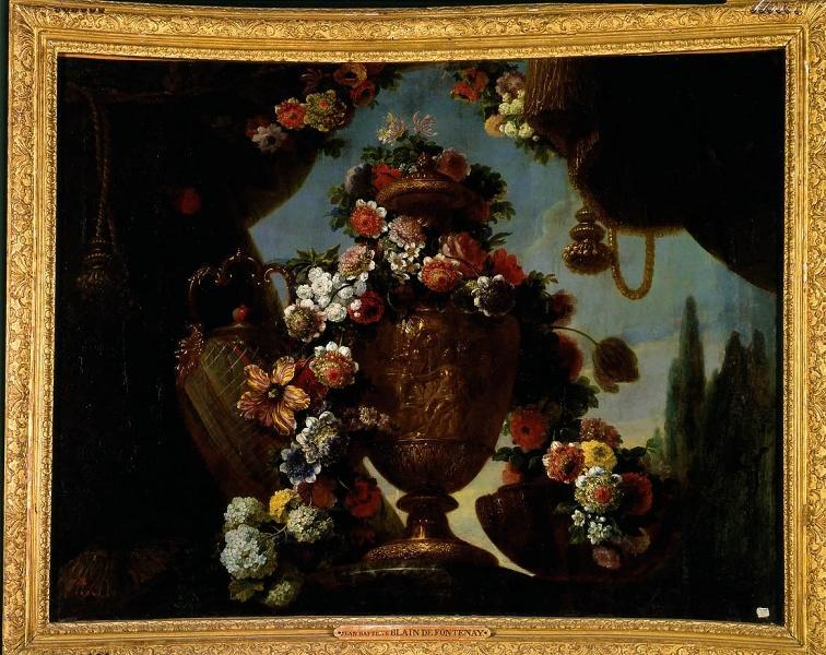 Exposition Fleurs du Roi au grand trianon M0657010