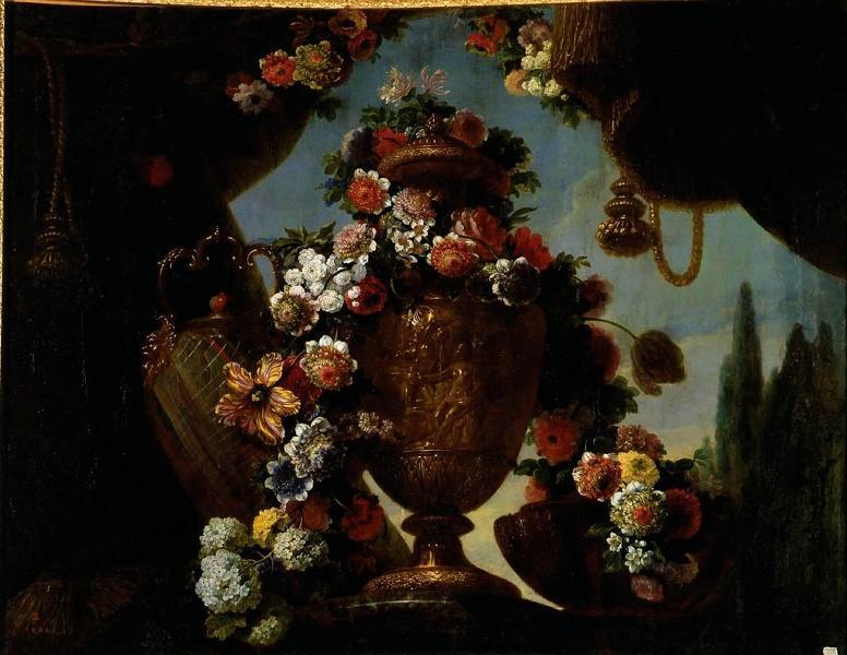 Exposition Fleurs du Roi au grand trianon M0657013