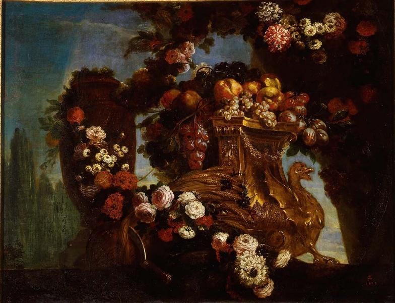 Exposition Fleurs du Roi au grand trianon M0657014
