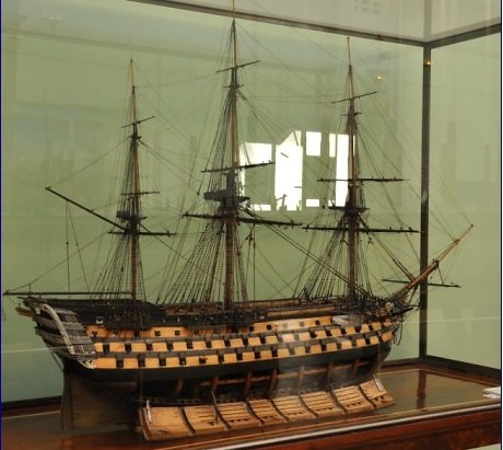 Maquettes de la Marine impériale, Grand Trianon, juin 2014 Ocaan10