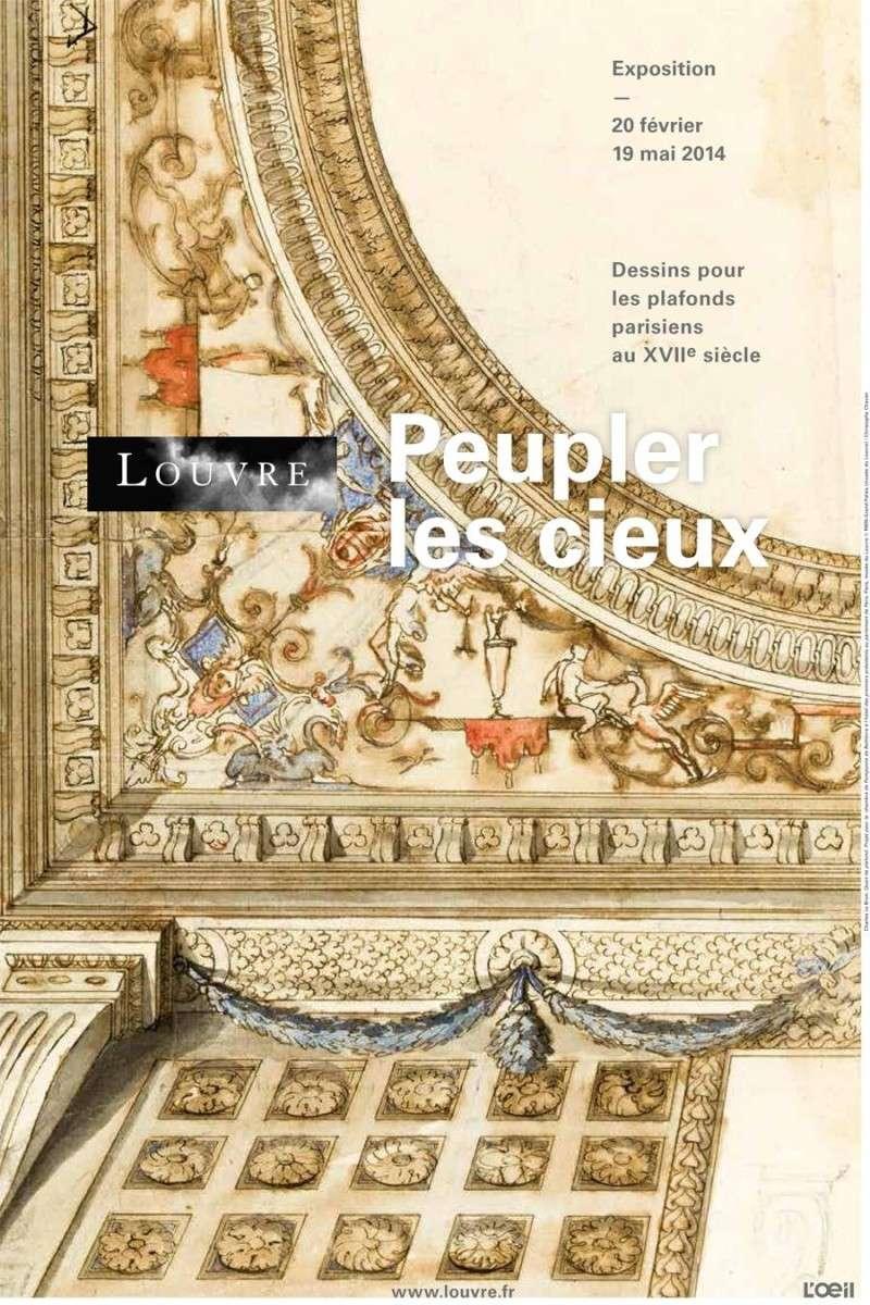 Expo. dessins pour les plafonds parisiens du Grand Siècle Peuple10