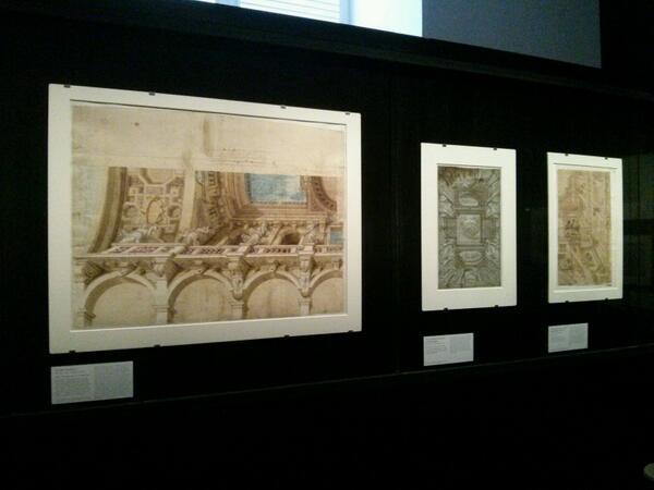 Les expositions du département des Arts graphiques du Louvre Plafon11