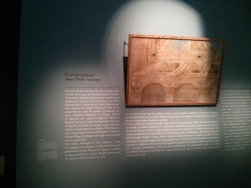 Les expositions du département des Arts graphiques du Louvre Plafon12