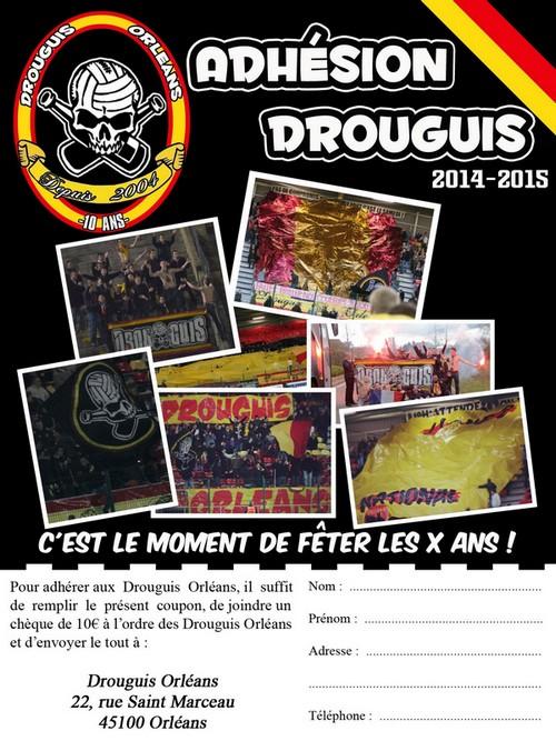 Drouguis Orléans  1211
