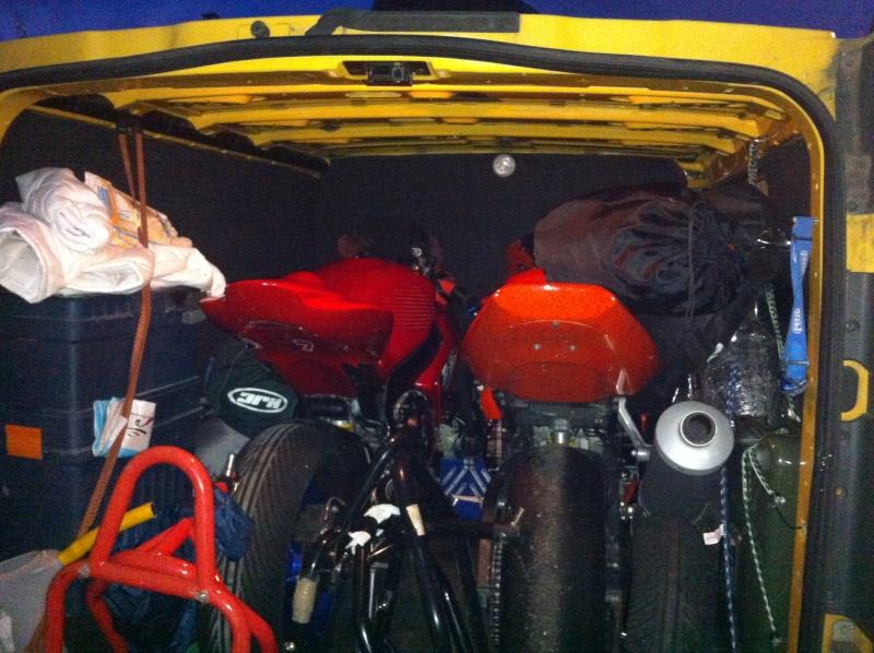 Utilitaire pour transport moto/matos Secure10