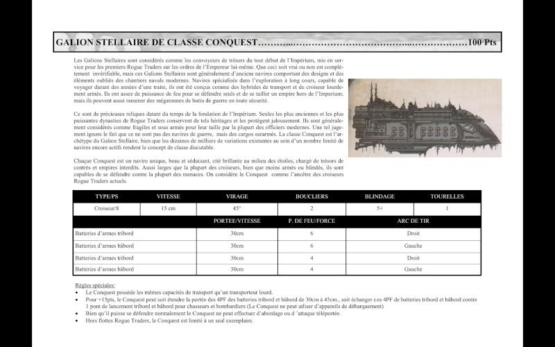 Vaisseaux Star Galleon - Mass Conveyor Conque10