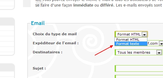 (#479) Problème réception newsletter et email d'un envoi multiple de MP Error10