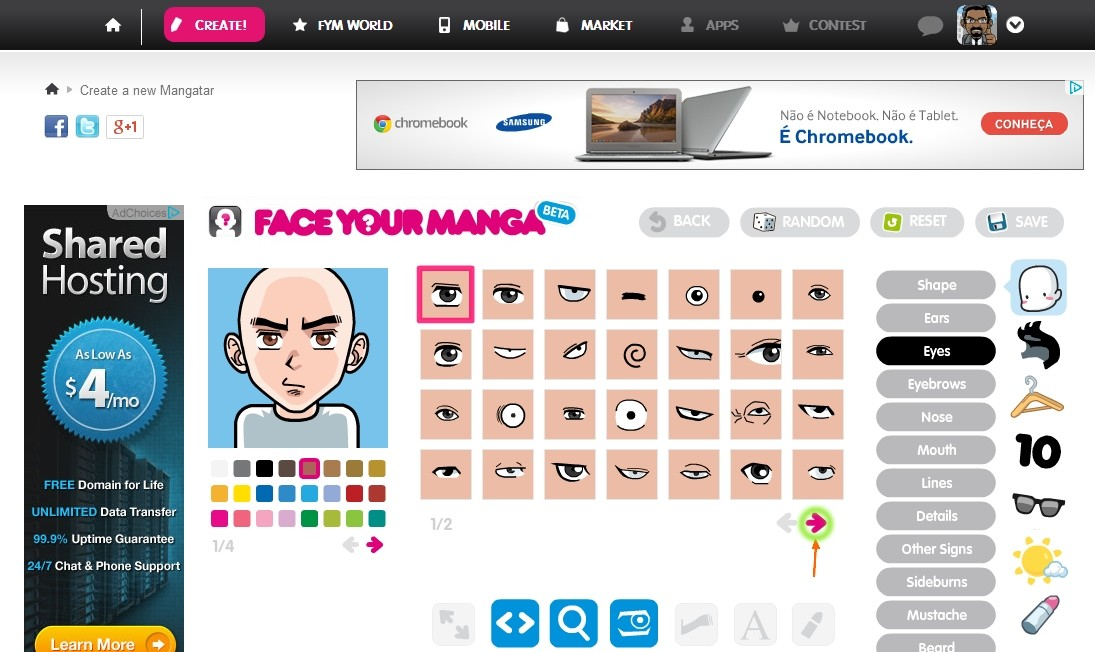 Concurso do dia das Bruxas: Crie um avatar com FaceYourAvatar e ganhe créditos para seu fórum Result30
