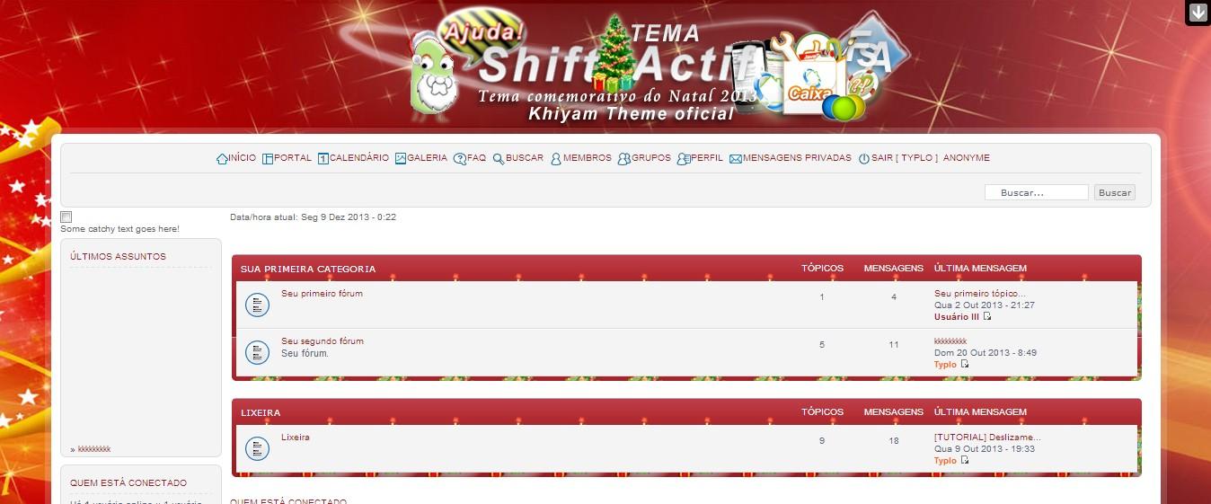 Tema natalino Khiyam disponível para Download Templa10