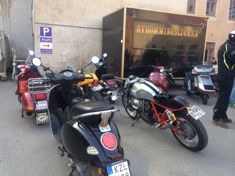 Magnifique Cafe racer Guzzi!! Image15