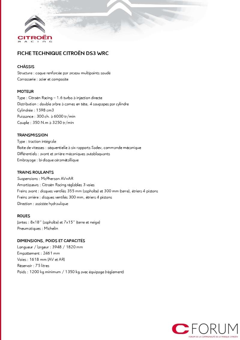 [COMMUNIQUE] Citroën Racing - Le programme complet pour 2014 810