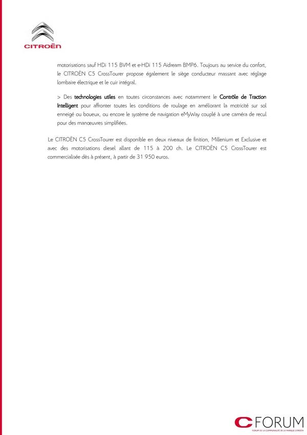 [DECLINAISON] Citroën C5 Tourer XTR - Page 3 Cp_cit11
