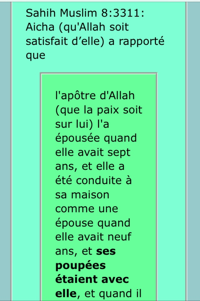 Mahomet et Aicha Image16