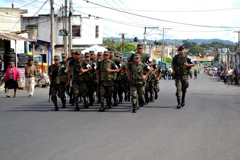 Les forces armées du Guatemala / Military of Guatemala / Ejército de Guatemala Guatem12