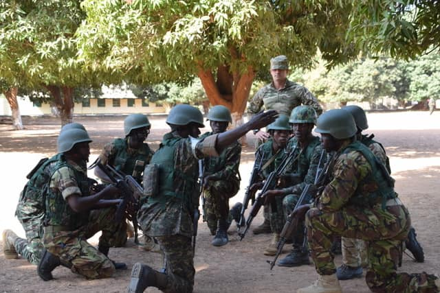 Armée Nationale Gambienne / Gambian National Army 00b10