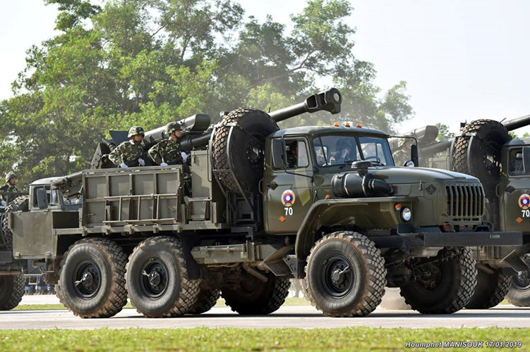 L'Armée populaire lao / forces armées du Laos 00b1010