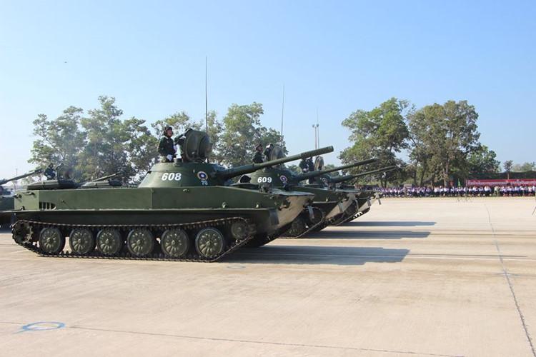 L'Armée populaire lao / forces armées du Laos 00b410