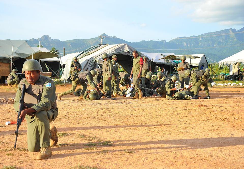 Les Forces militaires de la République des Fidji  /Republic of Fiji Military Forces (RFMF) 00b8g76