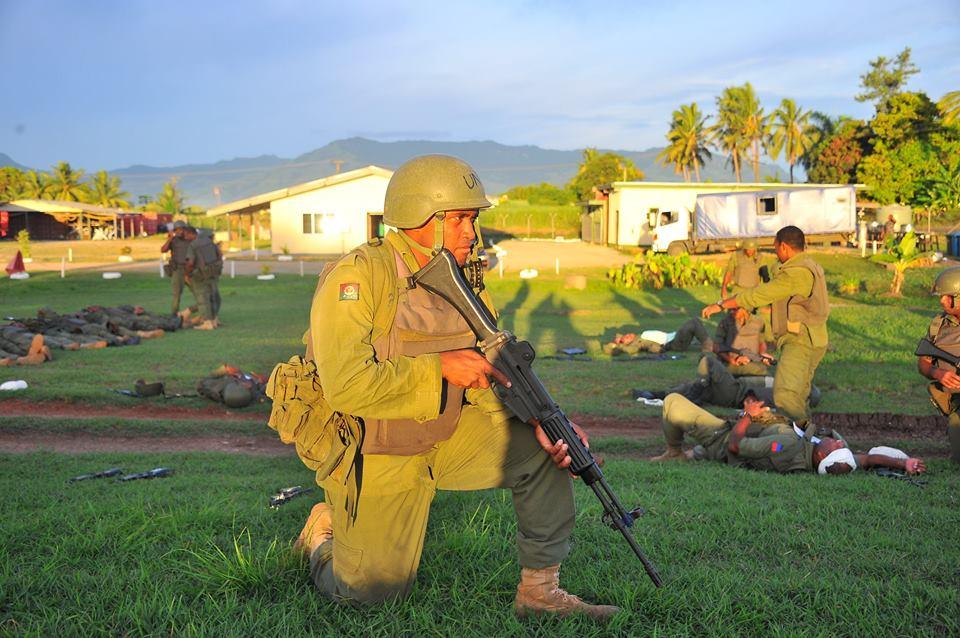 Les Forces militaires de la République des Fidji  /Republic of Fiji Military Forces (RFMF) 00b8j54