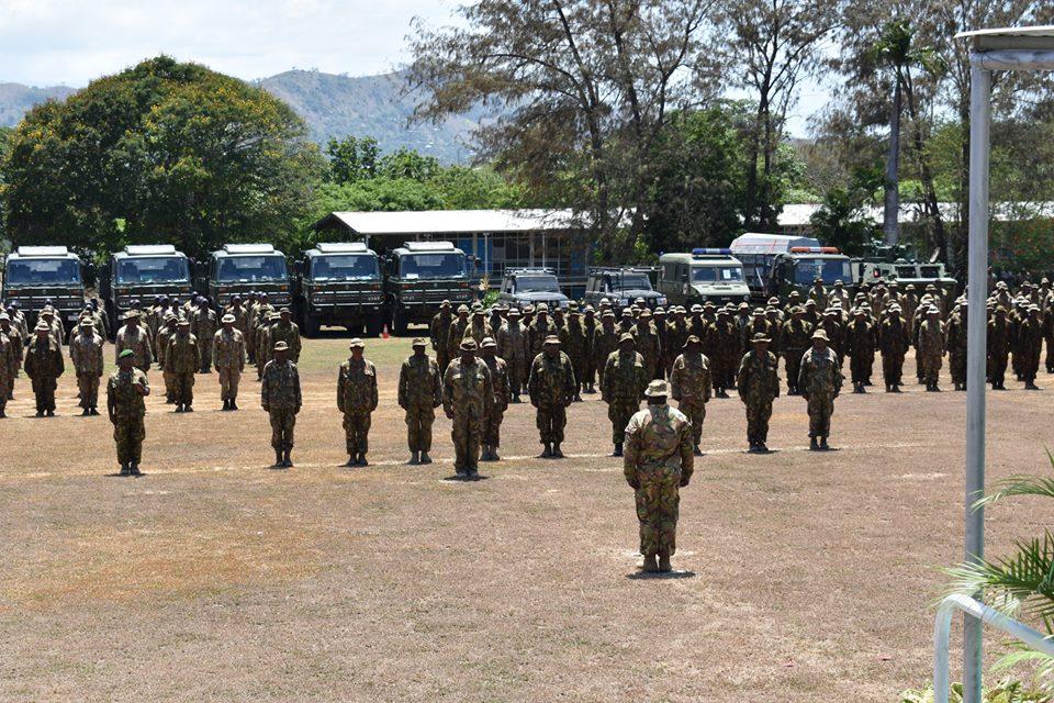 Force de défense de Papouasie Nouvelle-Guinée  / Papua New Guinea Defence Force (PNGDF) 1044