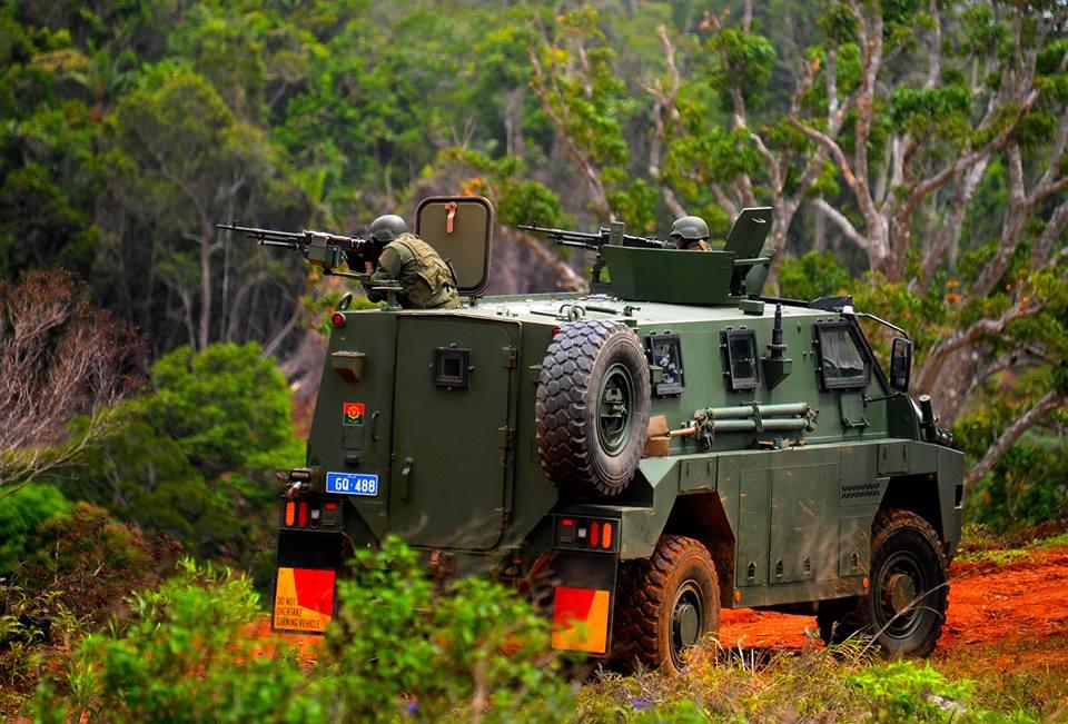 Les Forces militaires de la République des Fidji  /Republic of Fiji Military Forces (RFMF) 1047