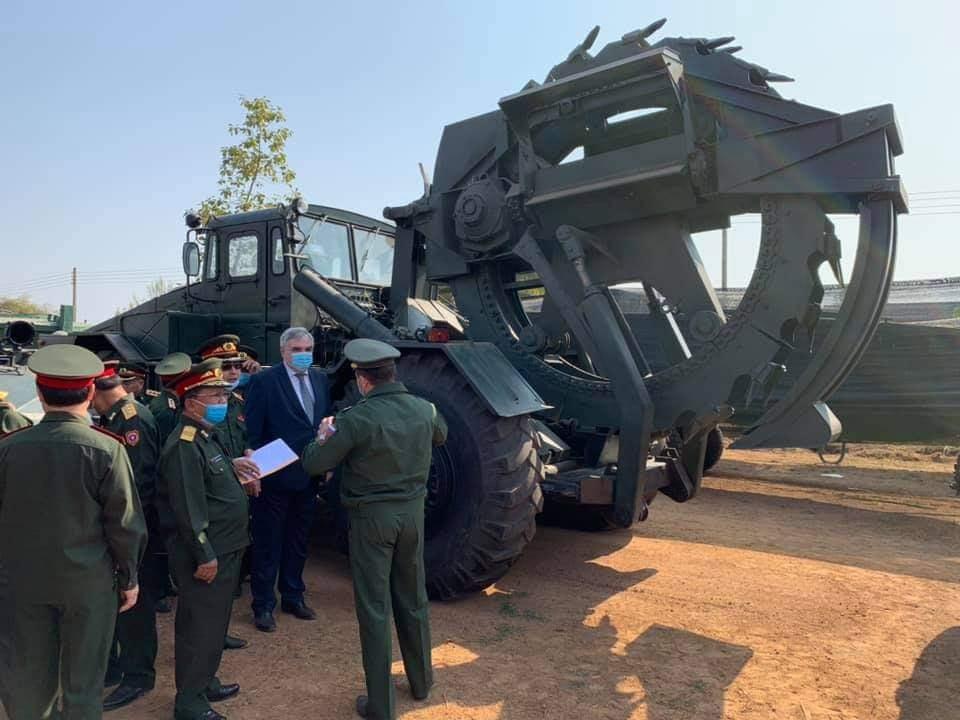 L'Armée populaire lao / forces armées du Laos 10a119
