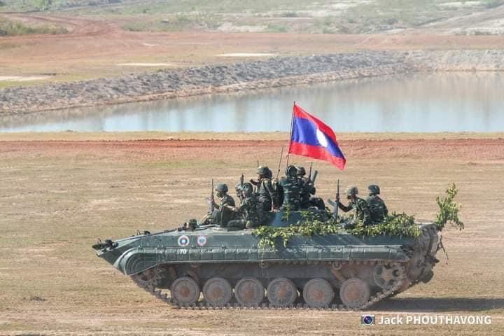 L'Armée populaire lao / forces armées du Laos 10a75