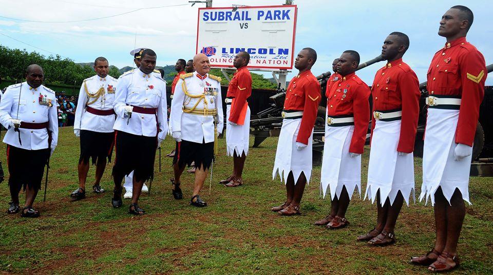 Les Forces militaires de la République des Fidji  /Republic of Fiji Military Forces (RFMF) 1121