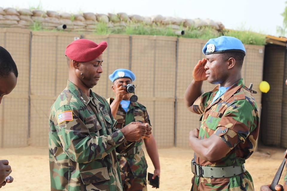 Les Forces Armées du Libéria / Armed Forces of Liberia ( AFL ) 118