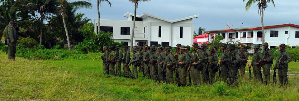 Les Forces militaires de la République des Fidji  /Republic of Fiji Military Forces (RFMF) 13a934